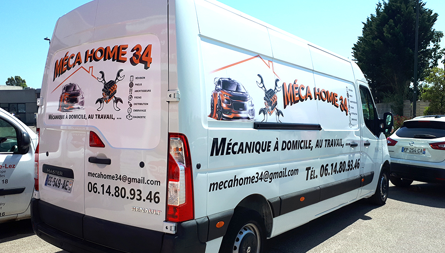 marquage camion mecahome34