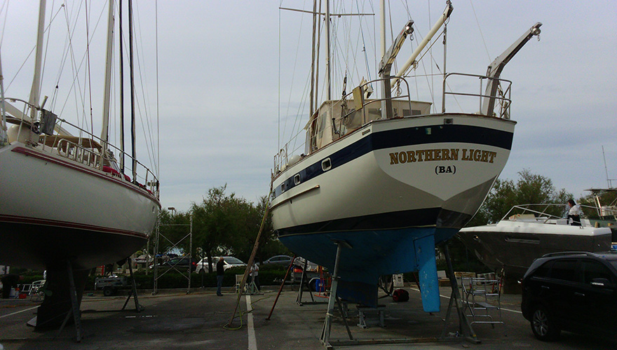 Flocage bateau