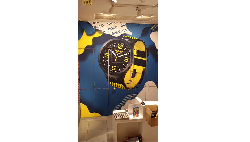 CADRE TOILE TENDUE SWATCH MONTPELLIER