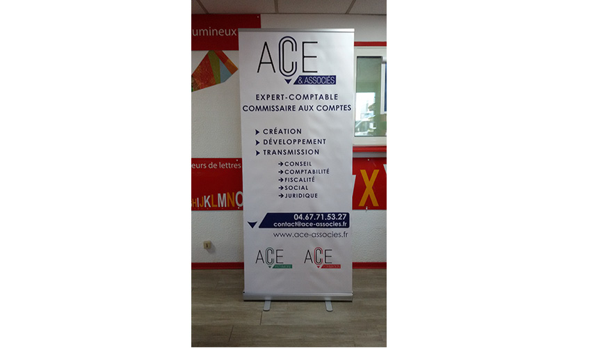 ROLL-UP ACE ASSOCIE MONTPELLIER
